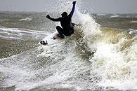 golfsurfen maasvlakte